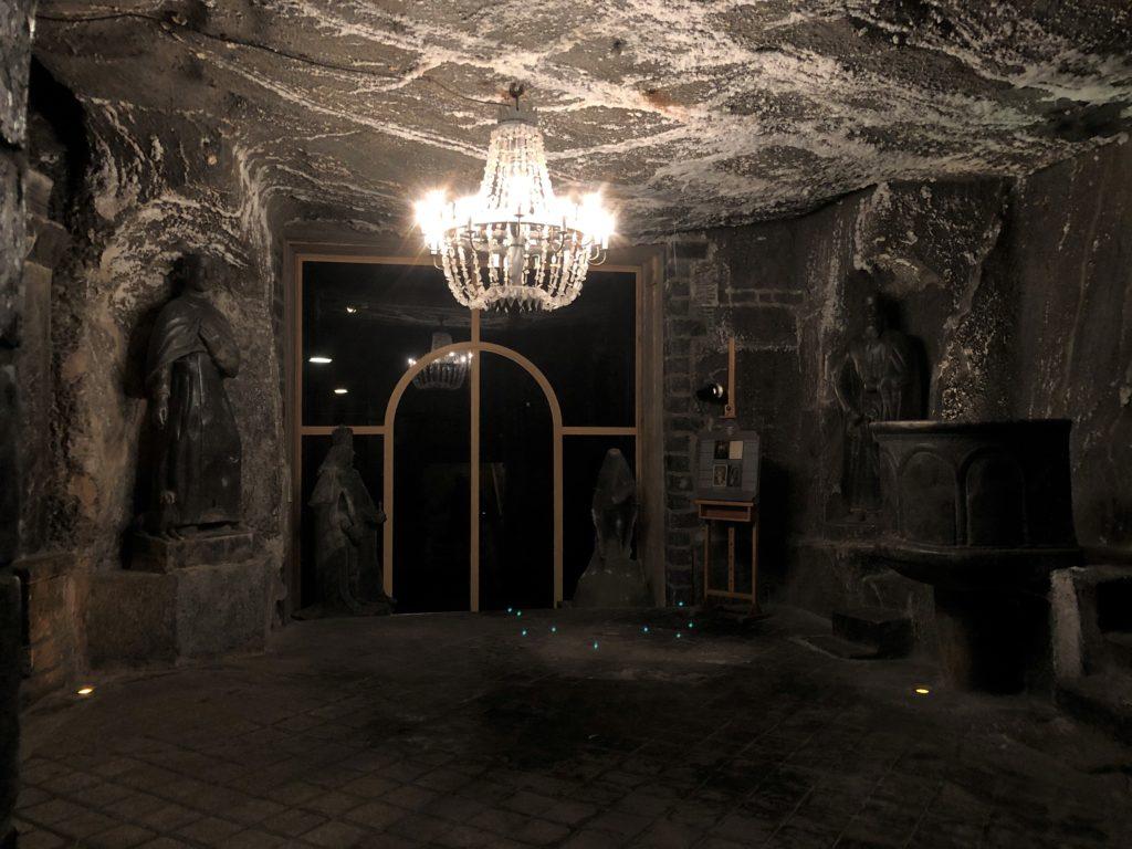 ヴィエリチカ岩塩抗の礼拝堂