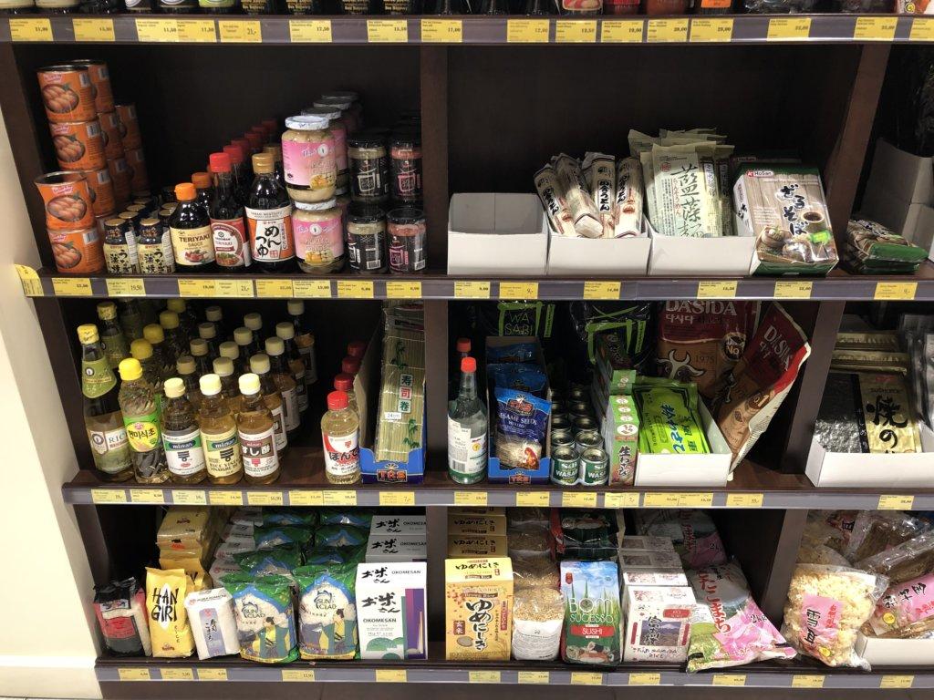 ポーランドで売られている日本食材