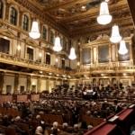 ウィーン学友協会の満席の大ホール