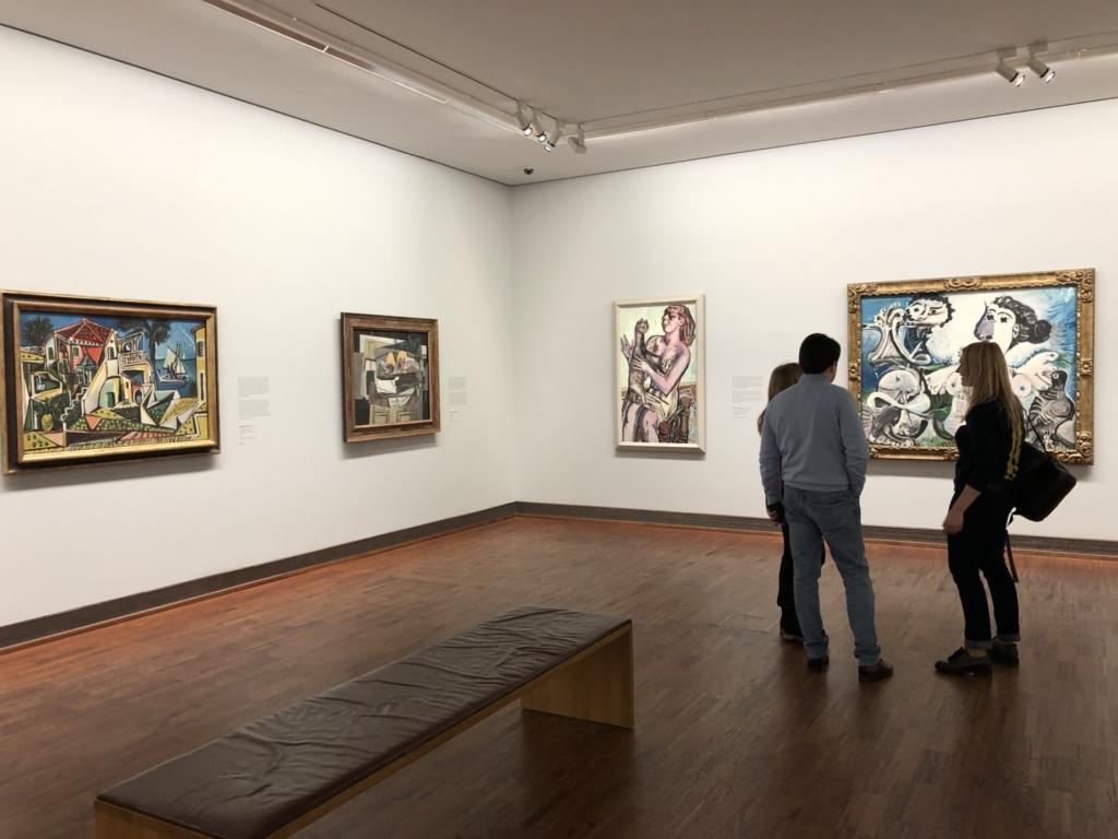 アルベルティーナ美術館のピカソの絵画