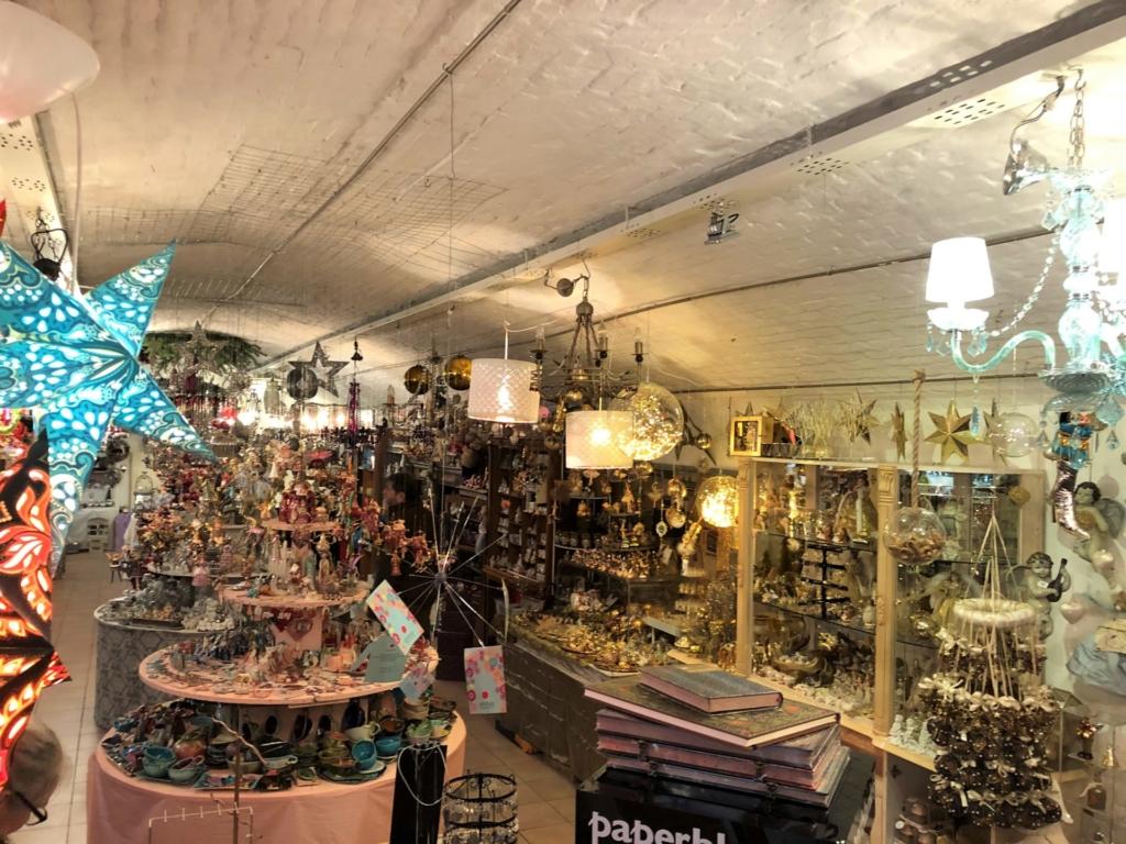 ウィーンの雑貨屋の内装