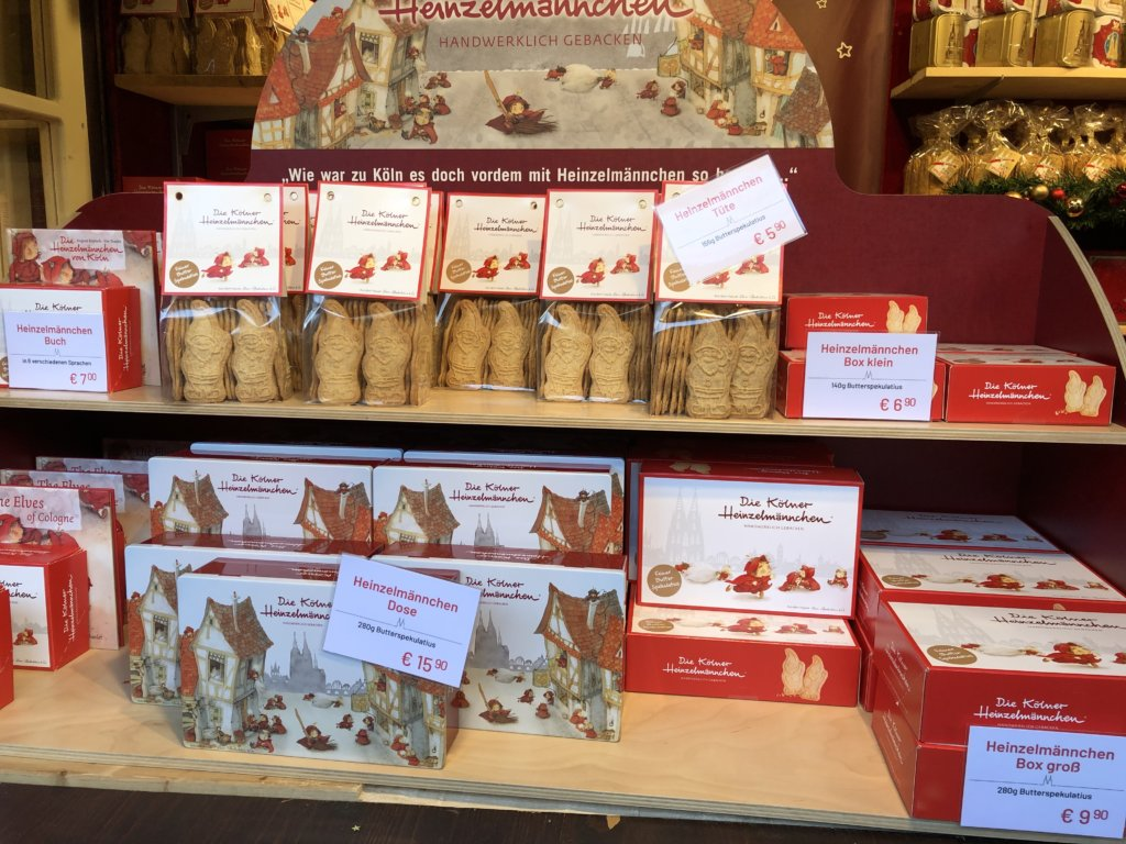 ドイツクリスマスマーケットの小人のクッキー