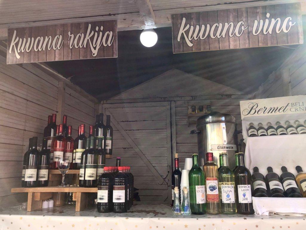 ワインの屋台