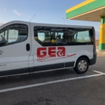 geatoursの送迎車