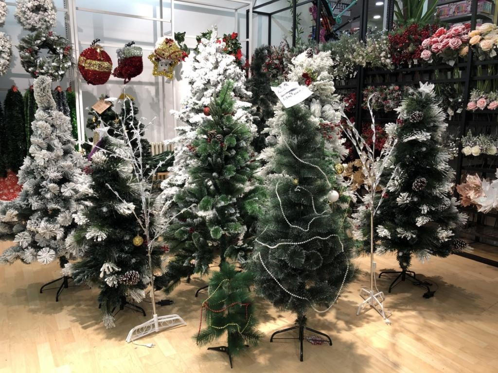 ベオグラードのクリスマスツリー