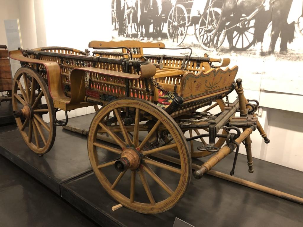 セルビア、ベオグラードの民族博物館の馬車