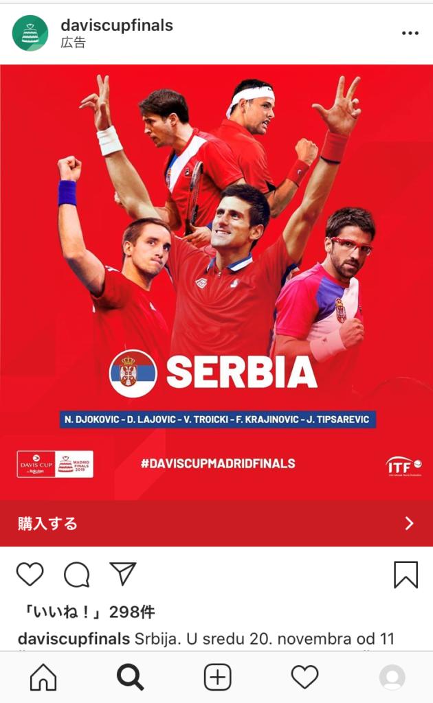 ジョコビッチとテニスプレーヤー