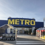 ベオグラードのMETROの入り口