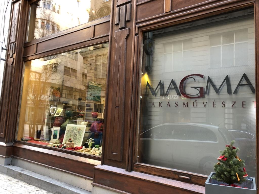 ハンガリー、ブダペストの雑貨屋MAGMA