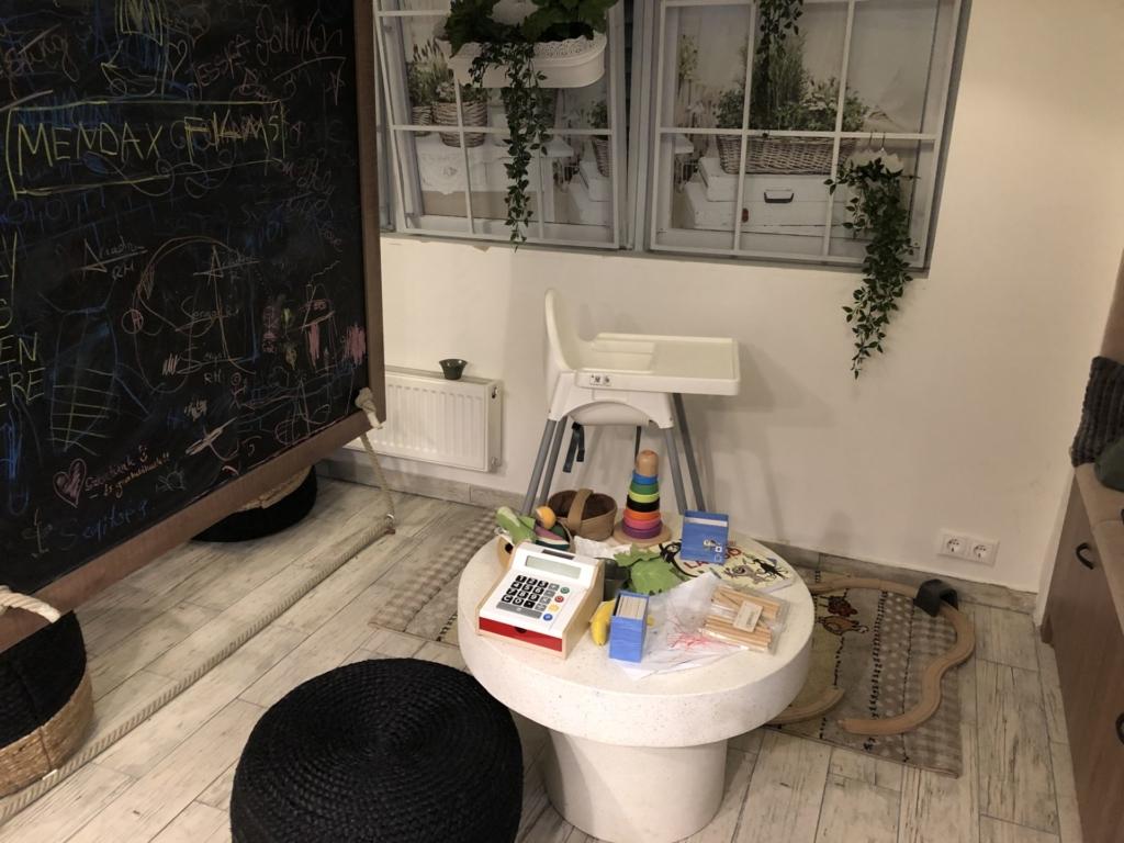 ハンガリーカフェの子どもスペース