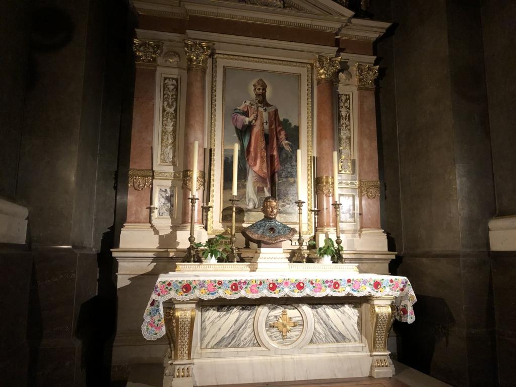 ブダペスト、聖イシュトヴァーン大聖堂の祭壇