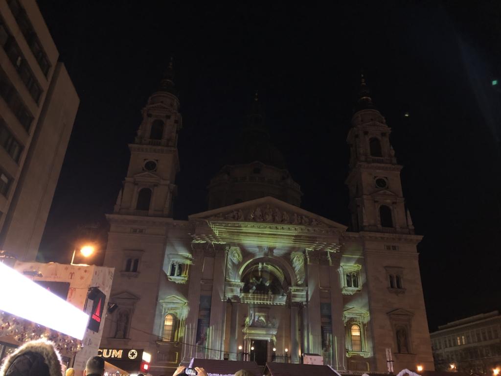 聖イシュトヴァーン大聖堂のプロジェクションマッピング