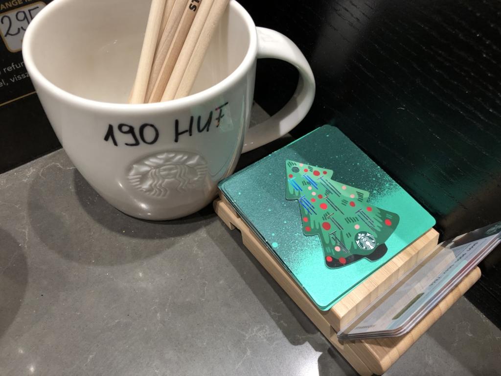 スターバックスのカード
