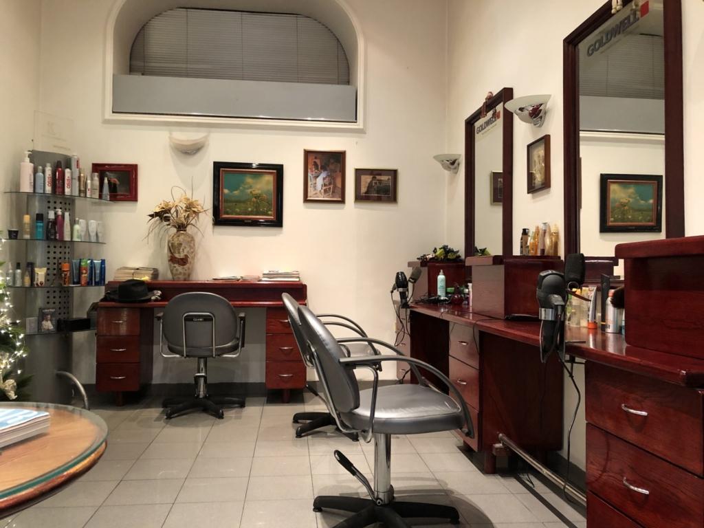 セルビア、ベオグラードの理髪店・美容院