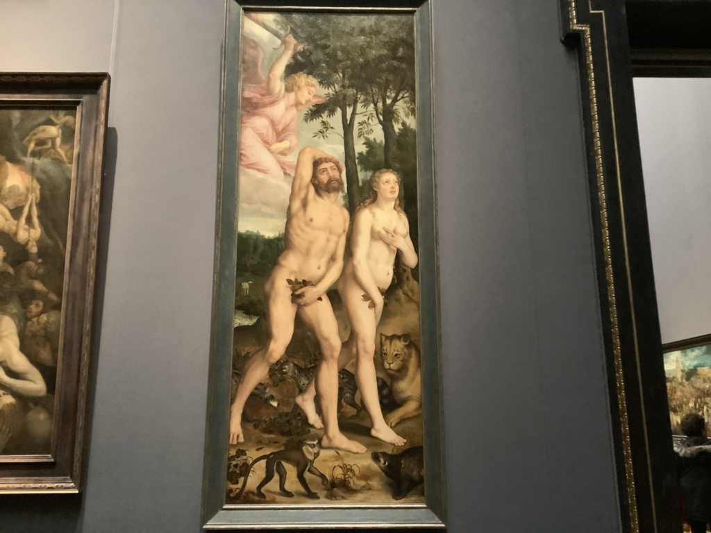 アダムとイヴの絵画