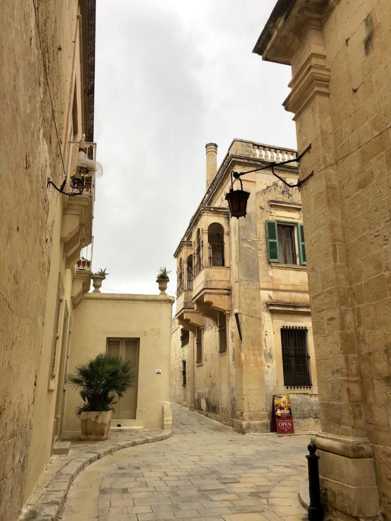 マルタ、イムディーナの街並み