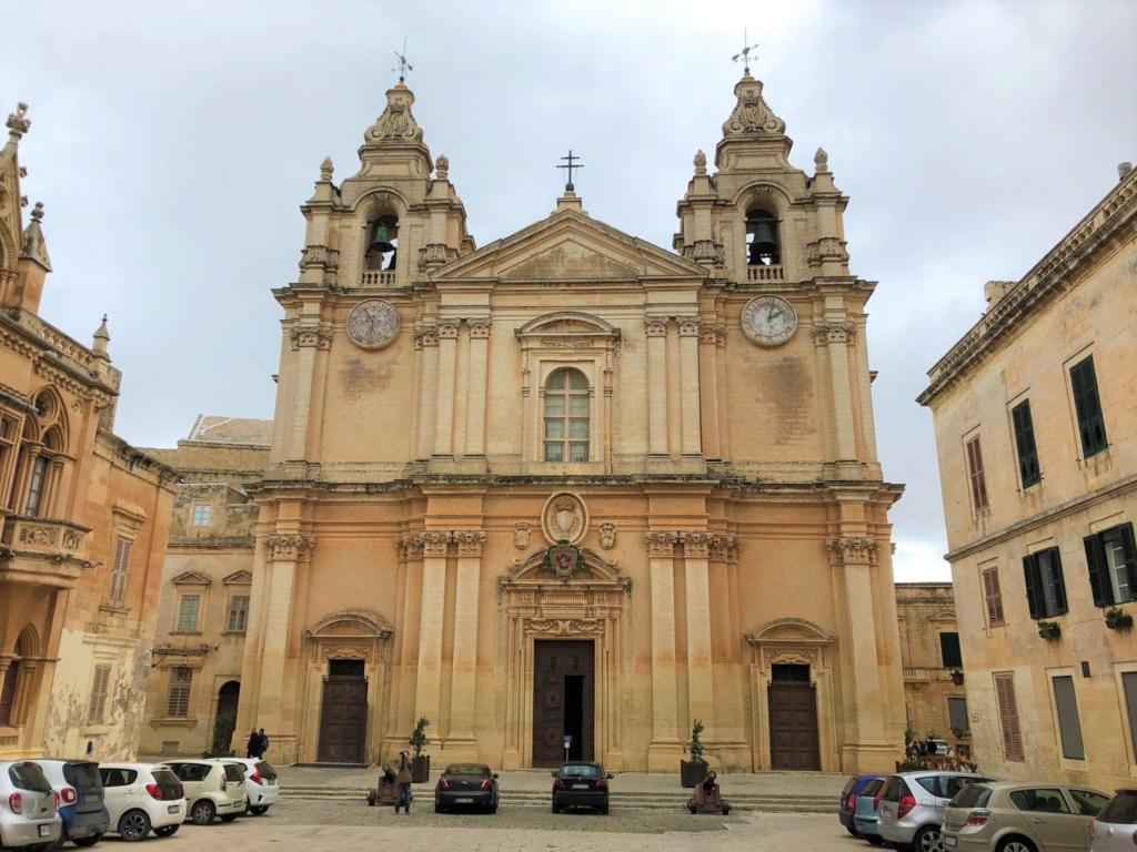 マルタ、イムディーナの聖パウロ大聖堂(The Cathedral)