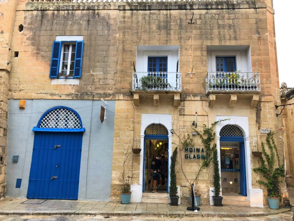 マルタのお土産店イムディーナガラス
