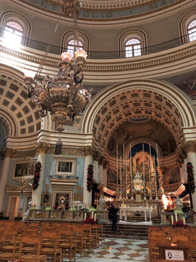 マルタの教会、モスタ・ロチュンダの祭壇