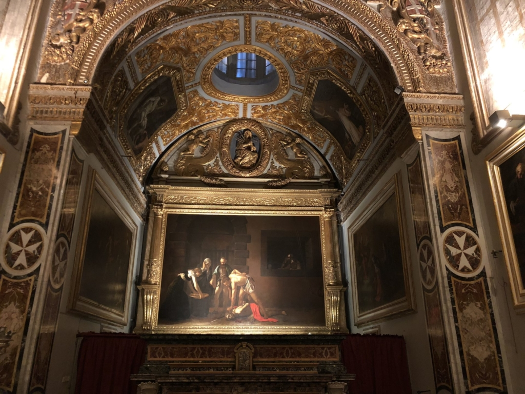 カラヴァッジオ、洗礼者聖ヨハネの斬首