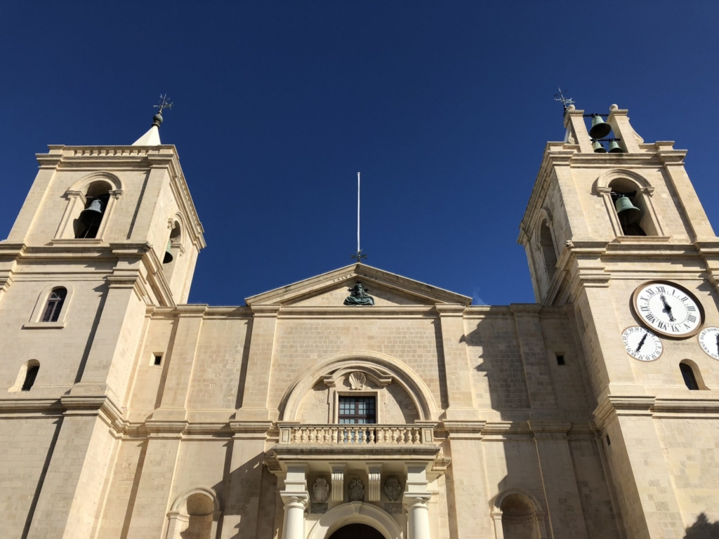 マルタ、聖ヨハネ大聖堂の外観