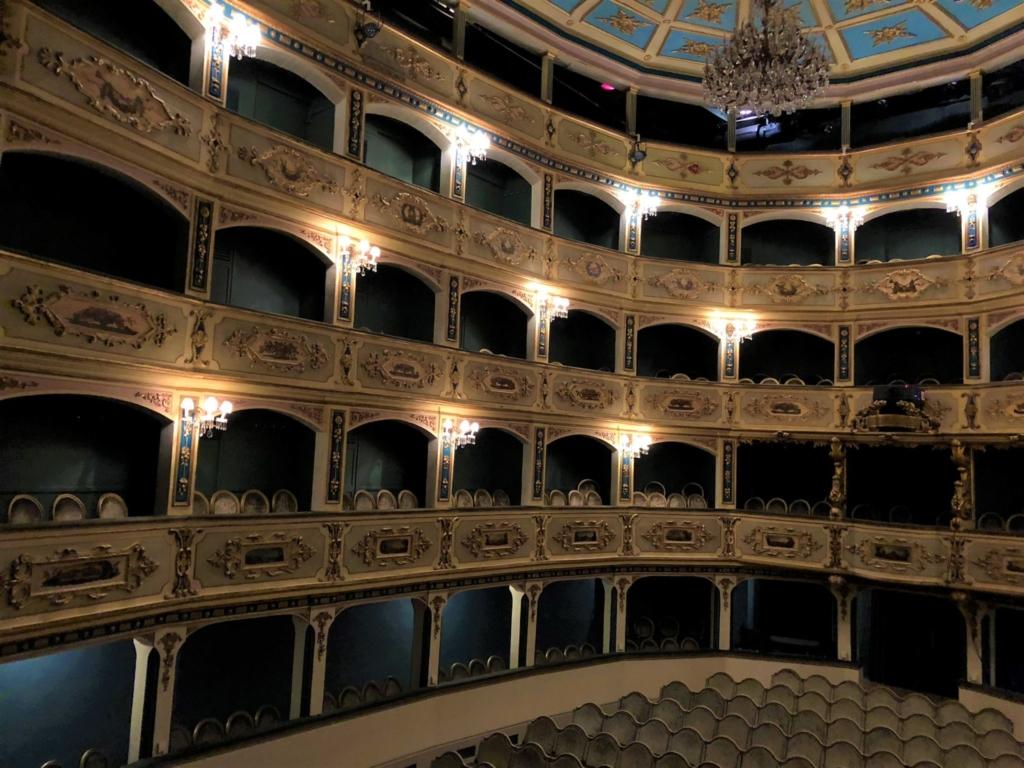 マルタ、Teatru Manoel(マノエル劇場)のボックス席