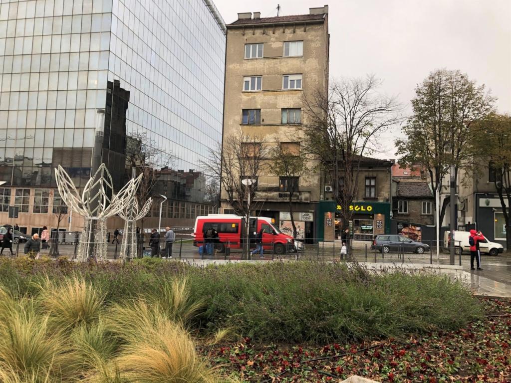 ベオグラードのスラヴィヤ広場
