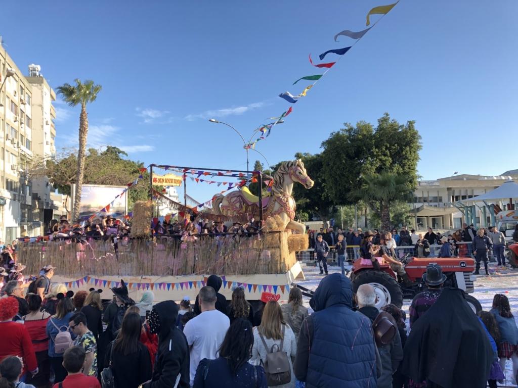 キプロス、リマソールのカーニバル