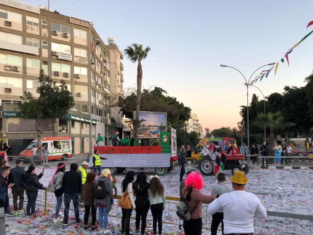 キプロスのリマソールのカーニバル