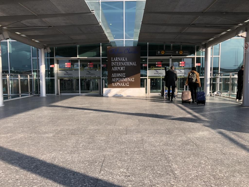 キプロスのラルナカ空港
